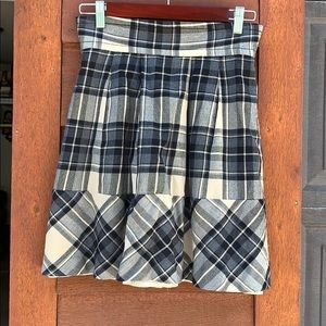 Plenty by Tracy Reese plaid skirt with liner
